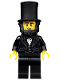 Minifig No: tlm005  Name: Abraham Lincoln - Minifigure only Entry