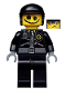 Minifig No: tlm007  Name: Scribble-Face Bad Cop - Minifig only Entry
