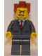 Minifig No: tlm084  Name: President Business - Buttoned Jacket and Bared Teeth