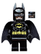 Minifig No: tlm090  Name: Batman - Dual Sided Head Grin and Angry Face (Type 2 Cowl)