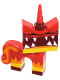 Minifig No: tlm091  Name: Unikitty - Super Angry Kitty