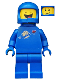 Minifig No: tlm094  Name: Benny - Closed Eyes
