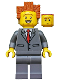 Minifig No: tlm095  Name: President Business - Smiling, Raised Eyebrows