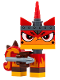 Minifig No: tlm102  Name: Unikitty - Angry Kitty with Harpoon