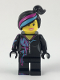 Minifig No: tlm103  Name: Lucy Wyldstyle with Magenta Lined Hoodie (70833)