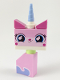 Minifig No: tlm104  Name: Unikitty - Sitting, Lopsided Smile