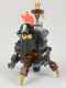 Minifig No: tlm106  Name: MetalBeard, Four Legs and One Wheel Body