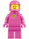 Minifig No: tlm108  Name: Classic Space - Pink with Airtanks and Updated Helmet (Lenny)