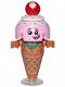 Minifig No: tlm127  Name: Ice Cream Cone