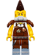 Minifig No: tlm135  Name: Larry the Barista - Apocalypseburg