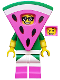 Minifig No: tlm155  Name: Watermelon Dude - Minifigure only Entry
