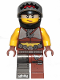 Minifig No: tlm176  Name: Sharkira - Helmet