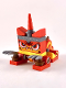 Minifig No: tlm179  Name: Unikitty - Warrior Kitty, Angry - Running, Posable