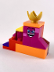 Minifig No: tlm182  Name: Queen Watevra Wa'Nabi - Small Pile of Bricks Form