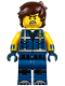 Minifig No: tlm197  Name: Rex Dangervest - Crooked Smile / Angry (70839)