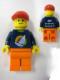 Minifig No: tls009  Name: Lego Brand Store Male, Surfboard on Ocean - Beachwood