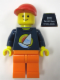 Minifig No: tls012  Name: Lego Brand Store Male, Surfboard on Ocean - Toronto Sherway Square