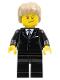 Minifig No: tls019  Name: Lego Brand Store Male, Dark Tan Hair - Liverpool