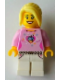 Minifig No: tls033  Name: Lego Brand Store 2012 Female - Cupcake