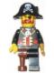 Minifig No: tls037  Name: Lego Brand Store Male, Pirate Captain Brickbeard - Vancouver
