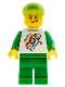 Minifig No: tls041  Name: Lego Brand Store Male, Classic Space Minifigure Floating - Victor
