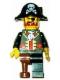 Minifig No: tls043  Name: Lego Brand Store Male, Pirate Captain Brickbeard - Nashville