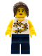 Minifig No: tls045  Name: Lego Brand Store Female, Yellow Flowers - Nashville