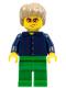 Minifig No: tls064  Name: Lego Brand Store Male, Plaid Button Shirt (no back printing) {Manchester}