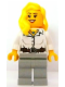 Minifig No: tls078  Name: Lego Brand Store Female, Pharaoh's Quest Blouse with Buttons, Belt and Necklace Pattern (no specific back printing) {Leeds}