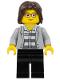 Minifig No: tls079  Name: Lego Brand Store Male, Jail Prisoner Jacket over Prison Stripes (no specific back printing) {Leeds}