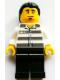 Minifig No: tls083  Name: Lego Brand Store Male, Jail Prisoner Shirt with Prison Stripes - Toronto Yorkdale