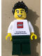 Minifig No: tls093  Name: Lego Brand Store Male, THE LEGO STORE Shanghai Disneytown 1st Anniversary