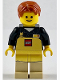 Minifig No: tls095  Name: Lego Employee, Male with Apron, Lego Store at Kidsfest 2013