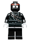 Minifig No: tnt011  Name: Foot Soldier (Black)