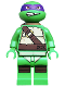Minifig No: tnt017  Name: Donatello, Gritted Teeth