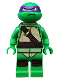 Minifig No: tnt019  Name: Donatello, Frown