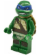 Minifig No: tnt024  Name: Leonardo, Gritted Teeth, Smudges
