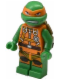 Minifig No: tnt029  Name: Michelangelo - Jumpsuit