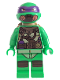 Minifig No: tnt031  Name: Donatello - Scuba Gear