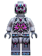 Minifig No: tnt034  Name: The Kraang - Gray Exo-Suit Body with Back Barb