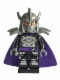 Minifig No: tnt035  Name: Shredder, Dark Purple Cape