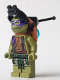 Minifig No: tnt050  Name: Donatello With Goggles and Pack