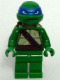 Minifig No: tnt053  Name: Leonardo - Plain Green Legs