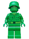 Minifig No: toy001  Name: Green Army Man - Plain