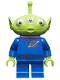 Minifig No: toy017  Name: Alien - Magenta Collar