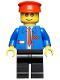 Minifig No: trn062  Name: Railway Employee 6