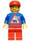 Minifig No: trn063  Name: Railway Employee 7