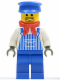 Minifig No: trn076  Name: Engineer Max with Dark Gray Hands