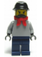 Minifig No: trn144  Name: Railway Engineer, Black Kepi