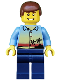 Minifig No: twn109  Name: Sunset and Palm Trees - Dark Blue Legs, Reddish Brown Male Hair
